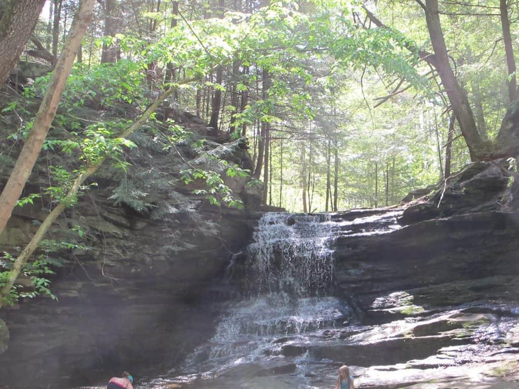 Honey Run Waterfall Ohio