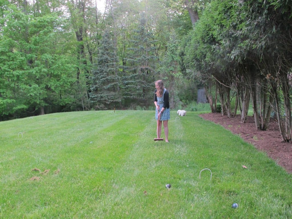 Croquet in Ohio