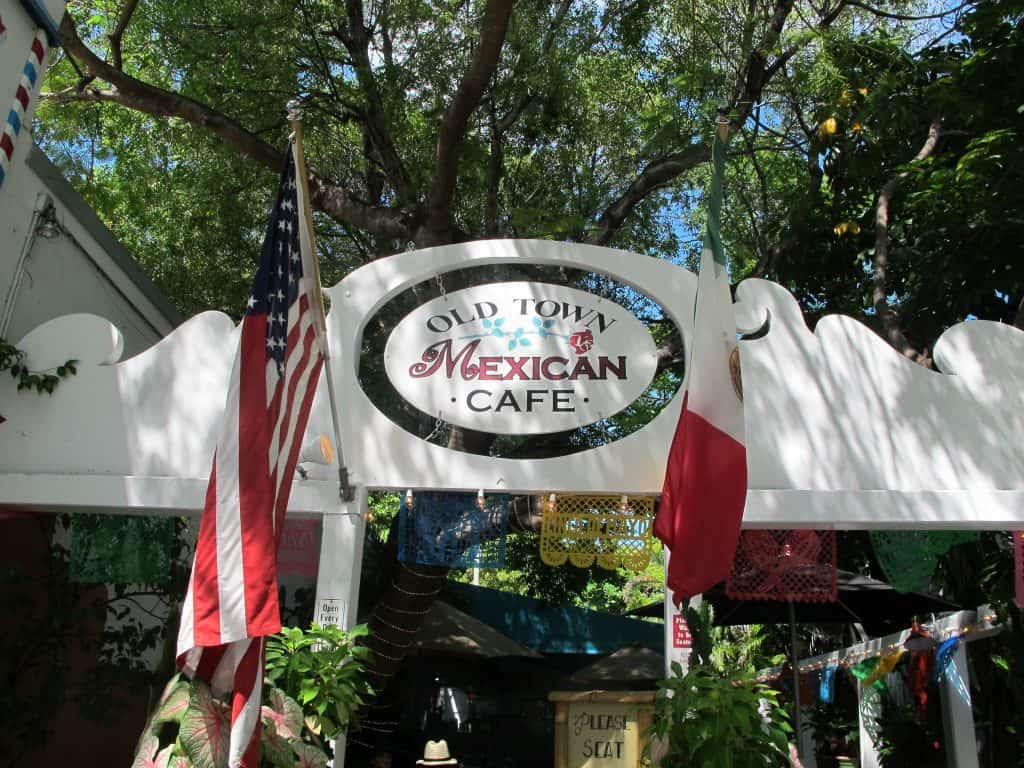 GLUTEN FREE GUIDE, KEY WEST: Old Town Mexican Cafe