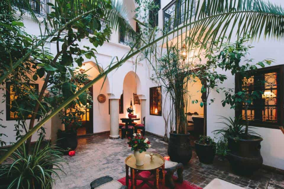 Riad Dar Zaman is the best hotel for gluten free travelers in Marrakech.