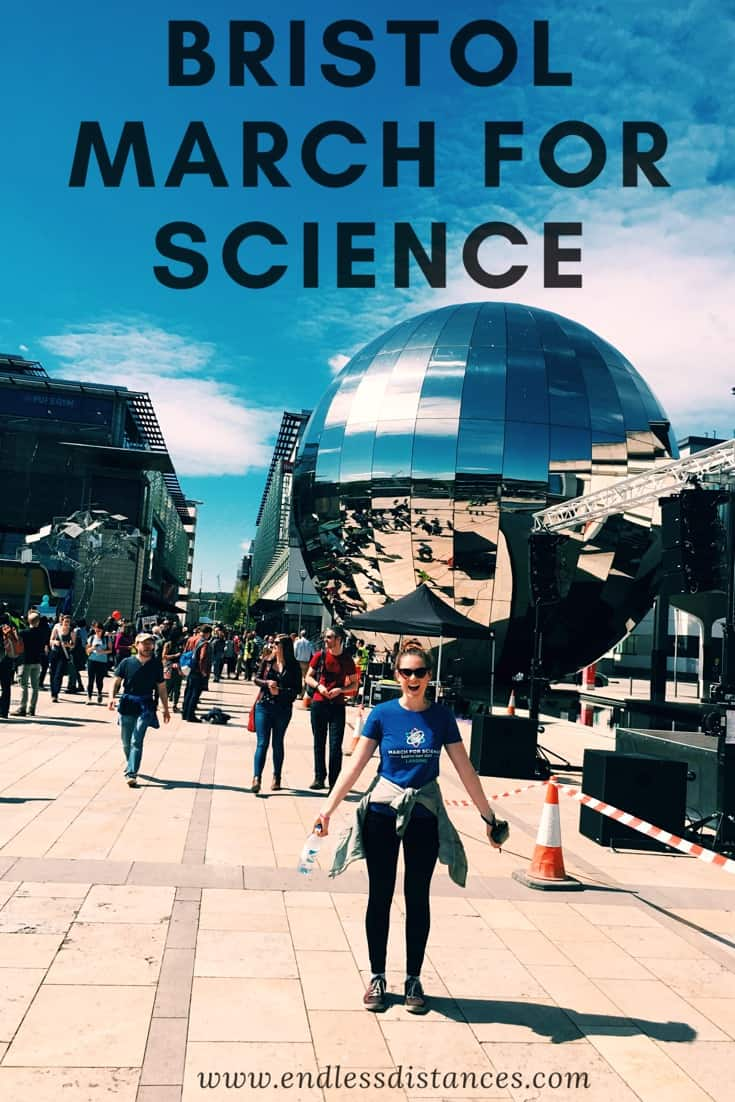 Bristol March for Science - Endless Distances