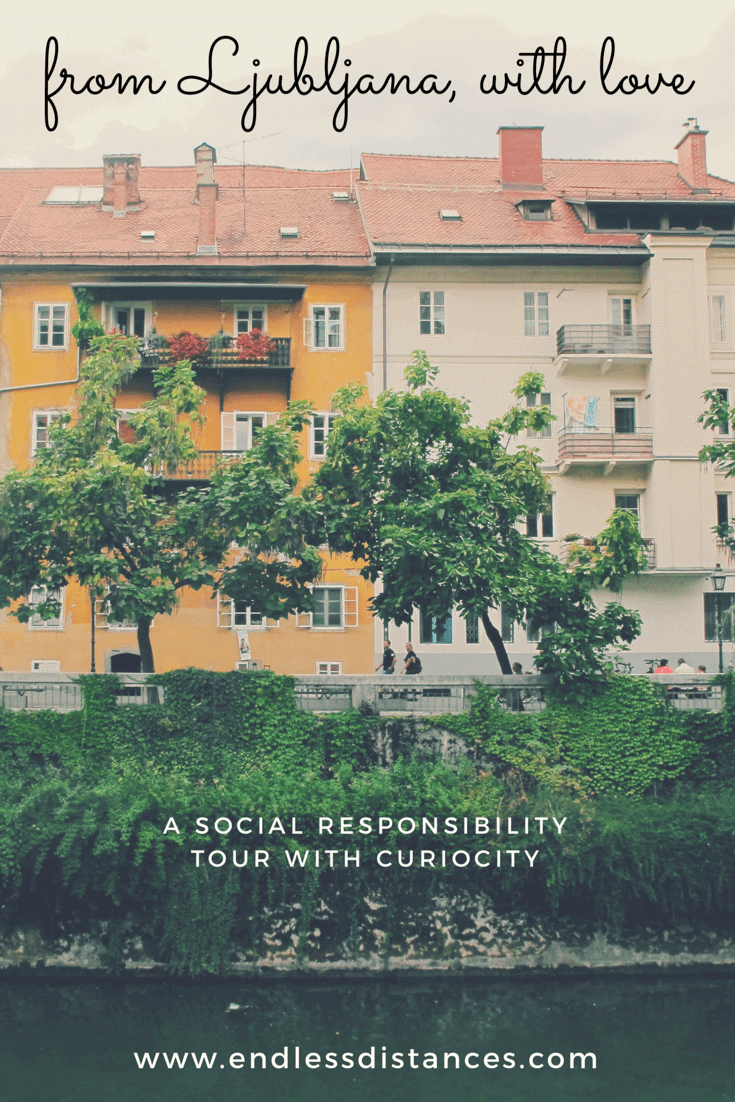 From Ljubljana with love: a tour like an old friend's signature on a postcard. Curiocity's social responsibility tour of Ljubljana is a lovely introduction to Europe's greenest city.