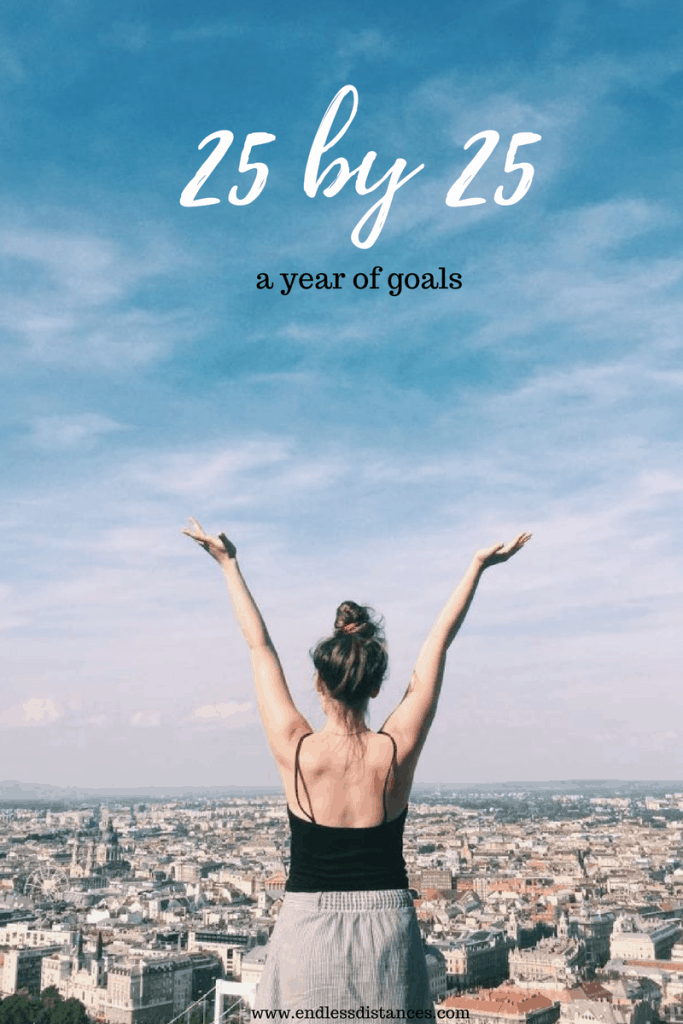 A girl with outstretched arms above Budapest's skyline - a list for every woman entering her mid-twenties.