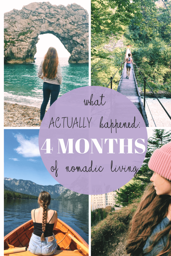 What ACTUALLY happened in 4 months of nomadic living