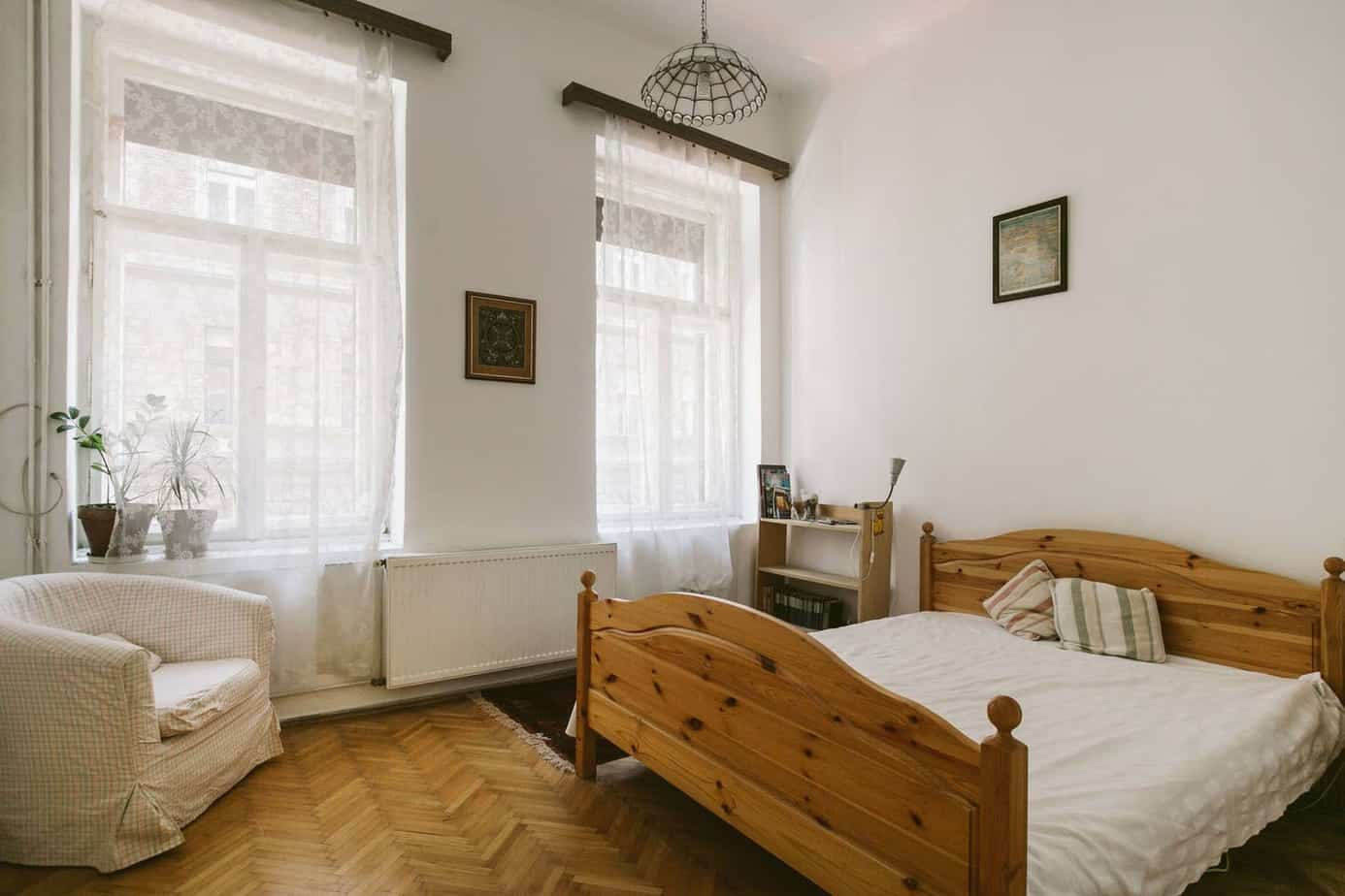 An airbnb in Budapest perfect for gluten free travelers.
