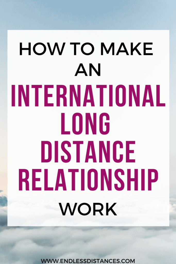 International long distance relationships are tough - but so worth it! Here's how to make one work! Long Distance Relationship Tips | Long Distance Relationship Advice | How to make a long distance relationship work | Successful Long Distance Relationship Advice | Long Distance Relationship Ideas | Dating Advice #longdistancerelationship #ldr #dating #longdistance #advice