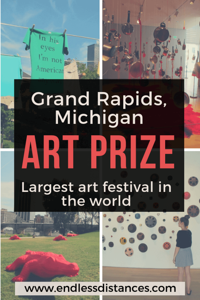 Explore Grand Rapids ArtPrize, the most attended art festival in the world, with this guide. Including how to get around, hotels, best stops, where to eat, and more. #grandrapids #michigan #artprize #grandrapidsartprize #artfestival #travel