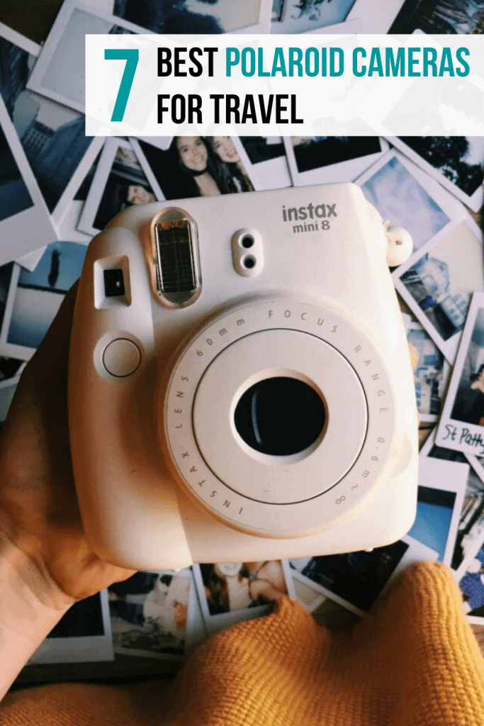 The best polaroid cameras for travelers, and why you should take a polaroid camera traveling with you! Travel Photography Tips | Best Polaroid Cameras for Travel | Best Polaroid Camera Accessories | Why You Should Take a Polaroid Camera on Your Next Vacation | Travel Photography Inspiration | Travel Photography Ideas | Camera Aesthetic | Photo Ideas | Old School Camera #polaroidcameras #polaroids #instax #photography #tips #travel