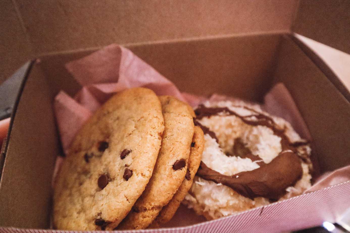 100% gluten free bakery in NYC: Erin McKenna's.