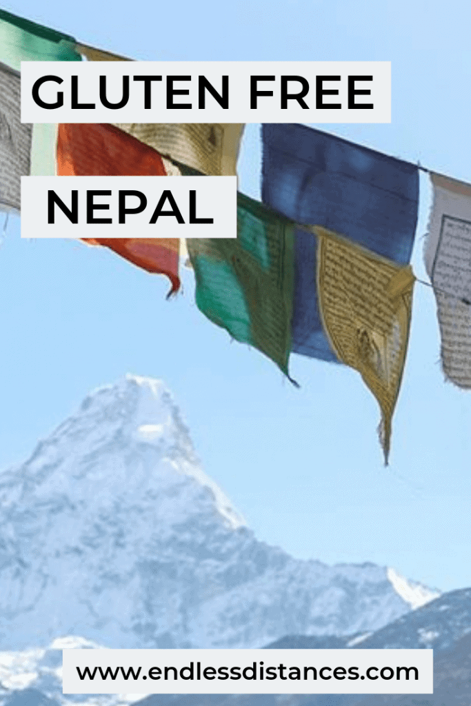Gluten free travel in Nepal can be challenging. Use this Nepal gluten free guide to help plan your trip, including tips on translation, restaurants, trekking, and more. #glutenfreenepal #nepalglutenfree #glutenfreetravel #nepal #trekking