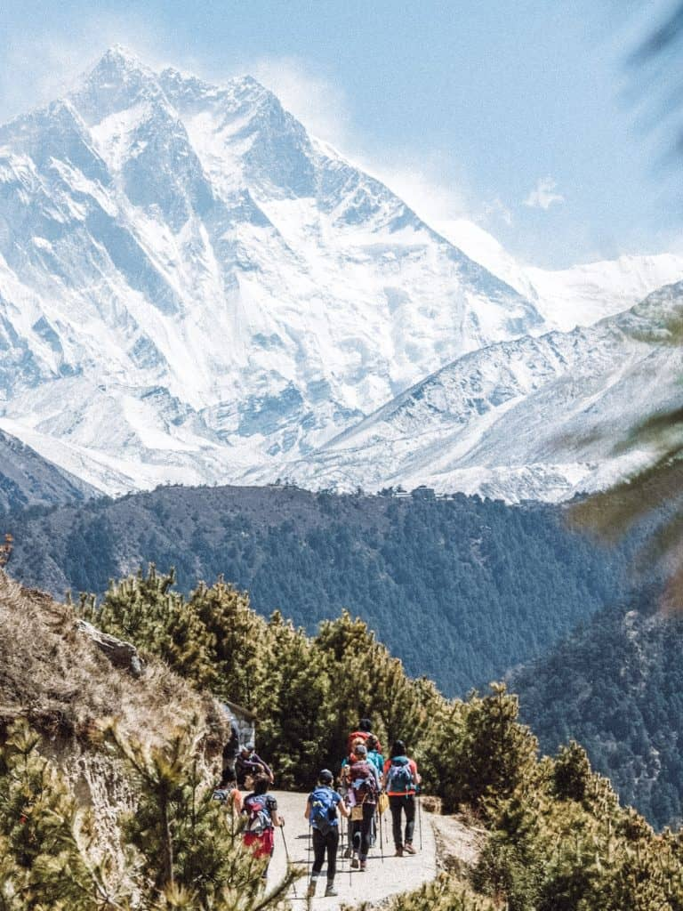 s it still ethical to go trekking in Nepal? This answers all your questions on ethical concerns and trail etiquette for trekking in Nepal. #trekkinginnepal #everestbasecamp #ethicaltravel #nepaltrekking