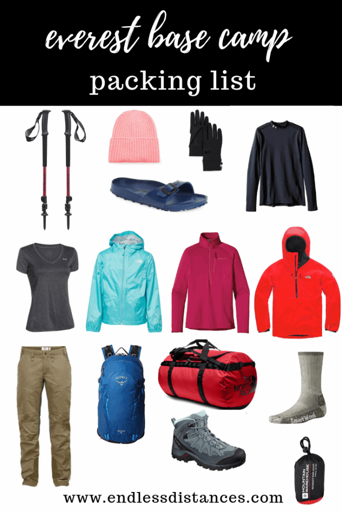 The most complete Everest Base Camp packing list out there. In this article, you'll find all the details you need on what to pack for Everest Base Camp. #everestbasecamppackinglist #everestbasecamp #everestbasecamptrek #trekkingpackinglist #nepaltravel