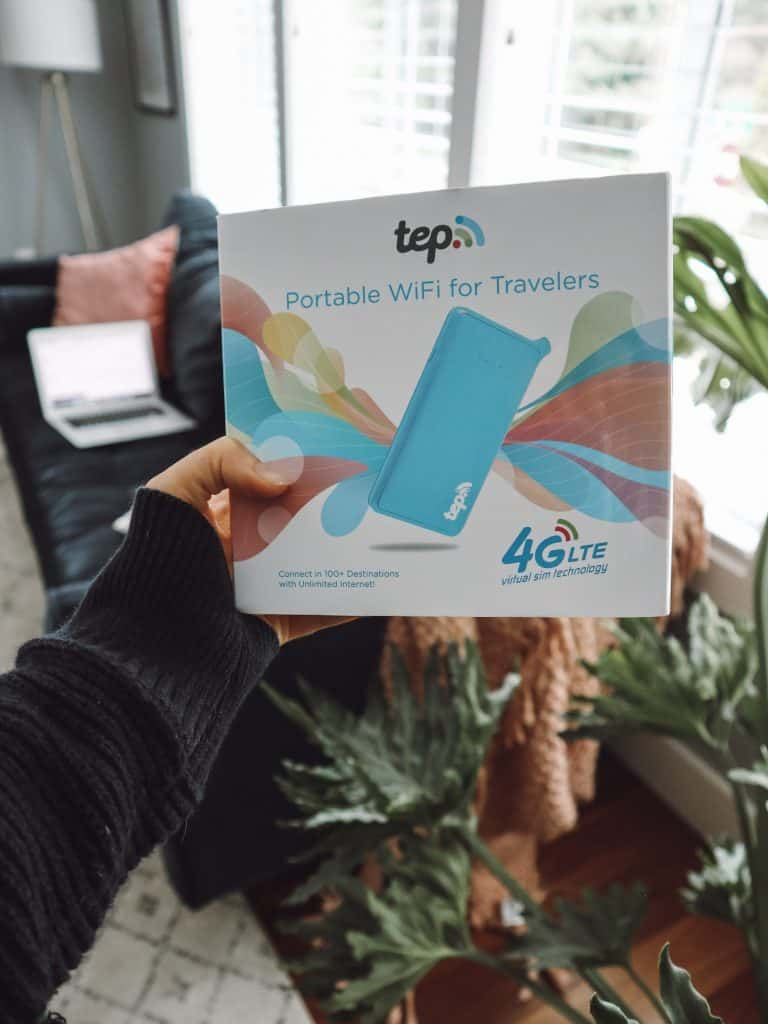 Looking for an international hotspot for your next trip abroad? Check out this TEP Wireless review, one of the best international hotspots on the market. #tepwireless #teppy #internationalhotspot #wififortravel #mifi #pocketwifi #travelwifi
