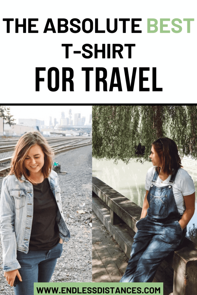 Want a travel T shirt you'll reach for every time you pack your suitcase? Check out a review and comparison of the two best travel T shirts on the market. Travel | Fashion | Shirt | T Shirt | Travel Fashion | Organic Basics #travelfashion #travel #tshirt #organicbasics