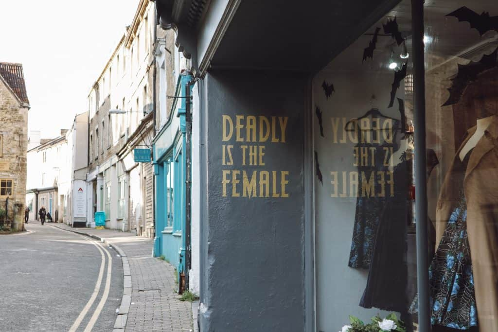 Deadly is the female Frome