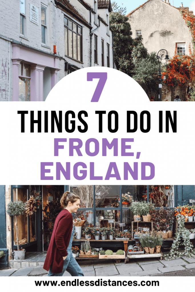 Looking for things to do in Frome England? Frome is filled with indie shops, cobbled streets, and cute cafes. But is it more than a pretty face?
