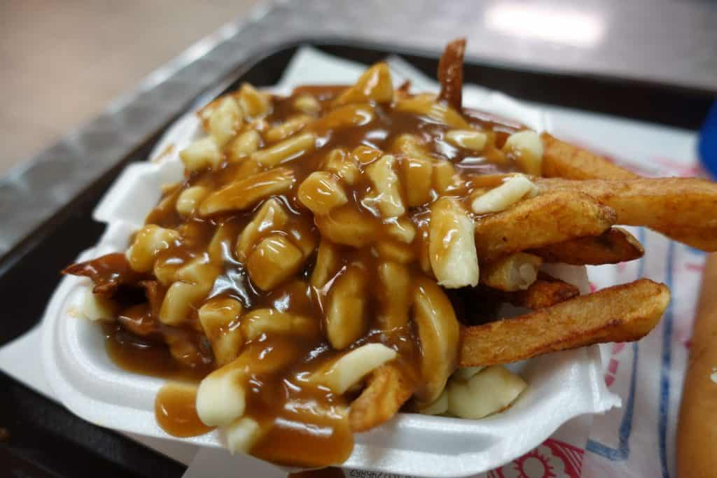 Poutine in Quebec City.
