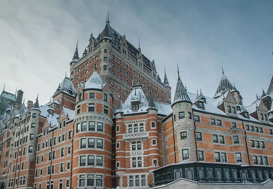 Le Chateau Frontenac in Quebec City.