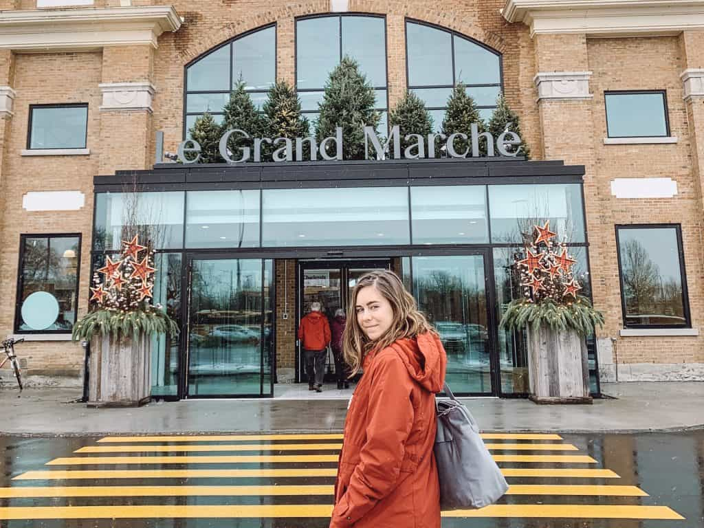 Le Grand Marche is open all year round in Quebec City.