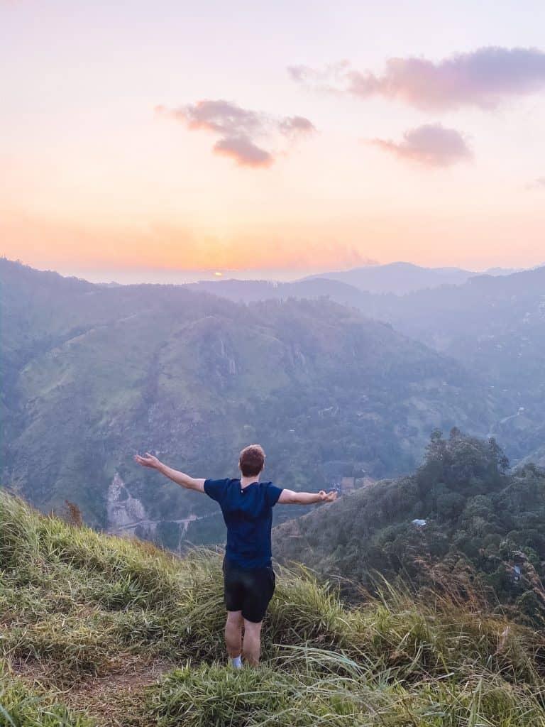 Little Adam's Peak in Ella Sri Lanka. #littleadamspeak #ellasrilanka