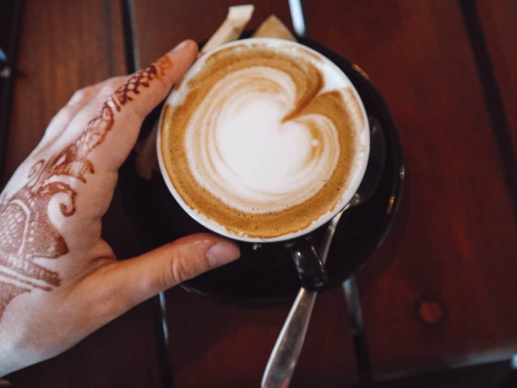 Coffee in Ella Sri Lanka.