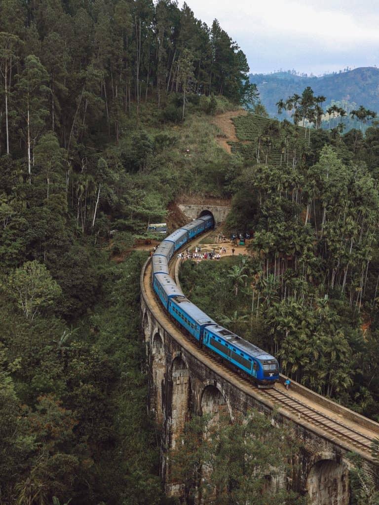 Nine Arch Bridge in Ella Sri Lanka.