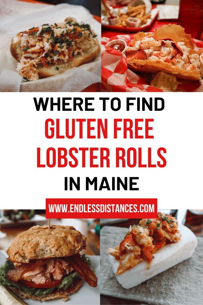 Looking for gluten free lobster rolls in Maine? You won't be left out of Maine's specialty just because you're gluten free. Here's where you can find them! #glutenfreemaine #glutenfreelobsterrolls #glutenfreelobsterrollsinmaine