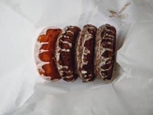 gluten free donuts in bag
