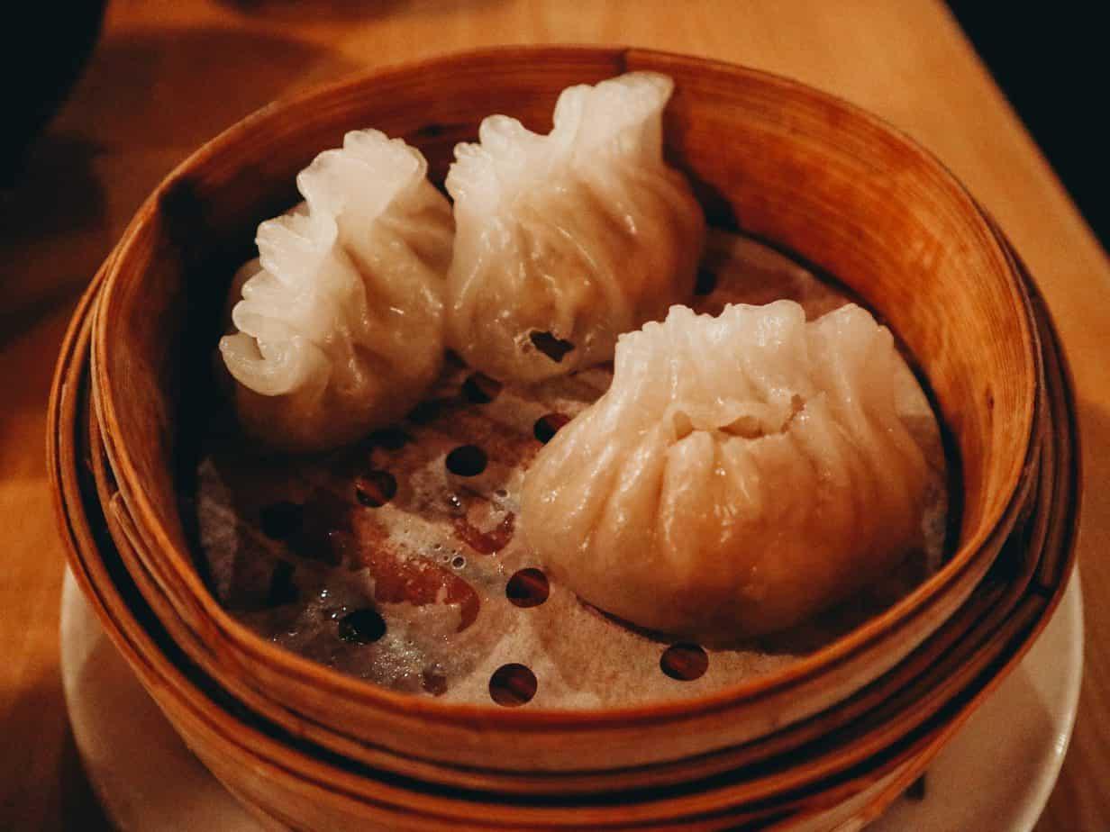 Gluten free dumplings in Portland Maine