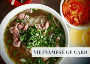 Vietnamese GF card