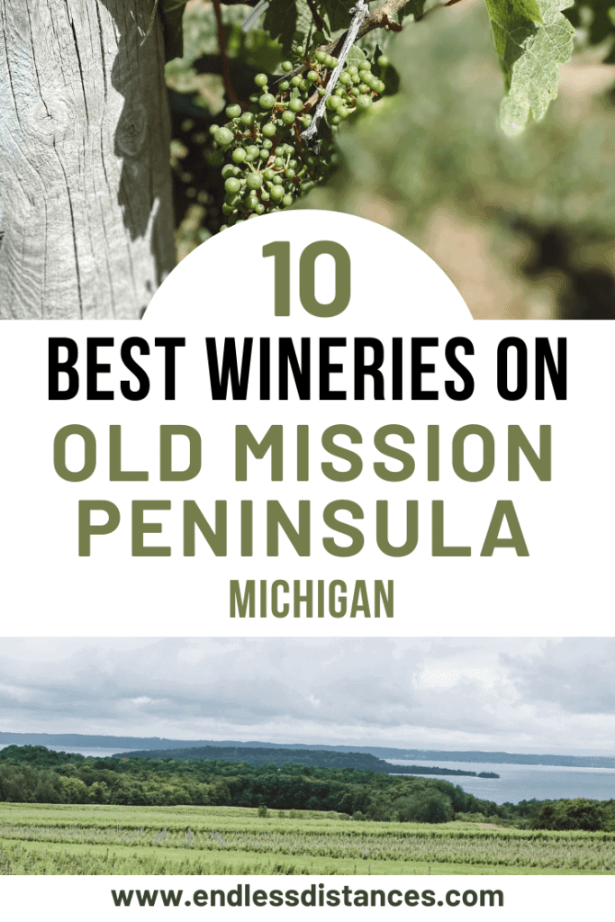 Planning a wine tasting trip to Old Mission Peninsula in Northern Michigan? Here are the 10 best Old Mission Peninsula wineries you need to stop at. Michigan | USA | United States of America | Travel Destinations | Honeymoon | Vineyard | Winery | Vacation | Bucket List | Wine | Off the Beaten Path | Local Guide | #travel #honeymoon #vacation #offthebeatenpath #Michigan #USA #America #UnitedStates #exploreMichigan #visitMichigan #seeMichigan #discoverMichigan #TravelMichigan #winery #vineyard