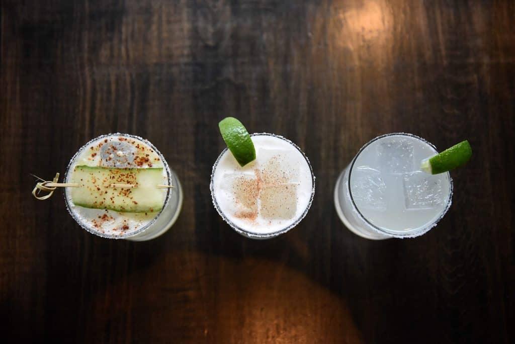 Margaritas at Mama Lu's in Traverse City.
