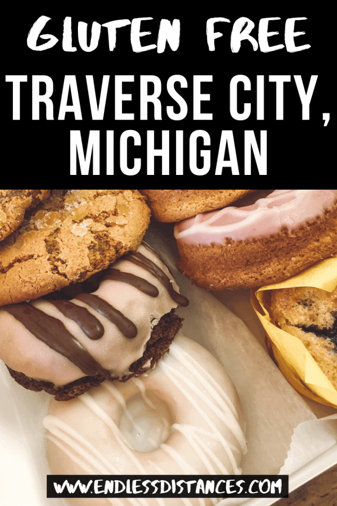 Check out 15+ gluten free Traverse City restaurants that are safe for celiacs. This Traverse City gluten free guide is compiled by a local Michigander! gluten free travel | michigan | gluten free | foodie travel | traverse city | traverse city michigan #glutenfree #glutenfreetravel #glutenfreemichigan #michigan #michigantravel #traversecity #northernmichigan