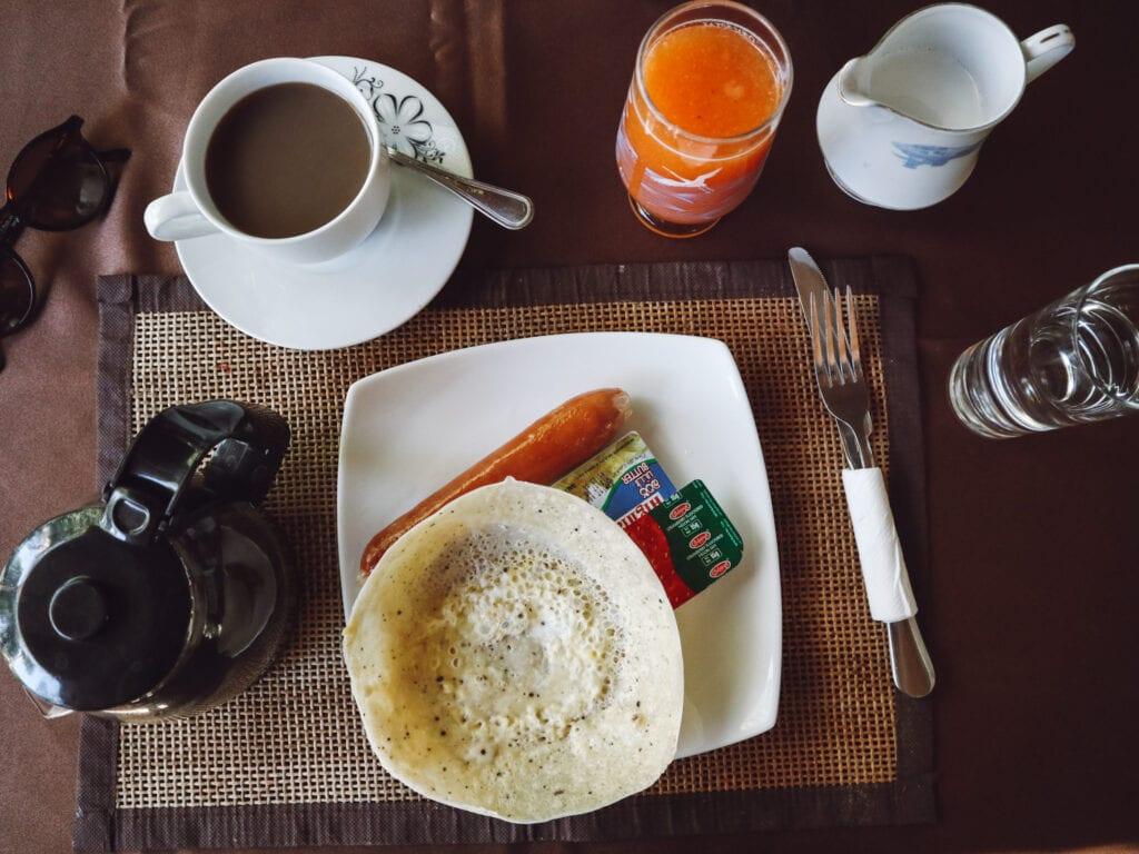 egg hopper breakfast spread