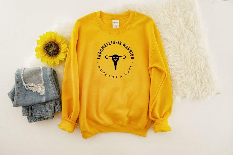 endometriosis awareness shirts hope for a cure