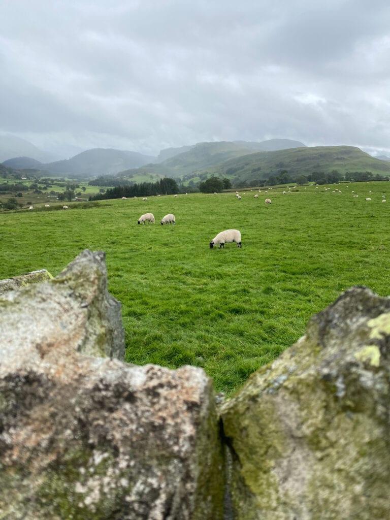 Castlerigg Stone Circle in Keswick Lake District