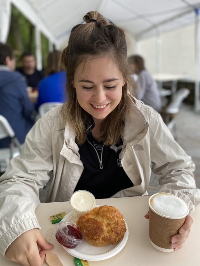 gluten free scone in keswick lake district