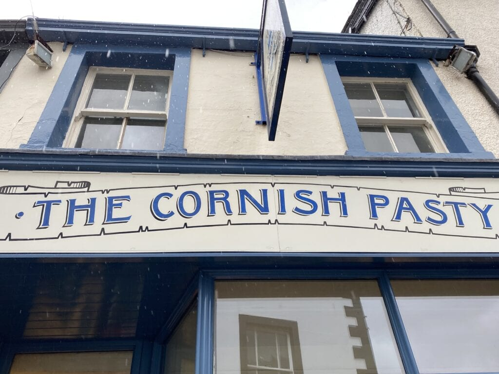 cornish pasty serves gluten free pasties in the lake district in england