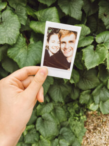 sweet things to do in a long distance relationship - polaroid photo.